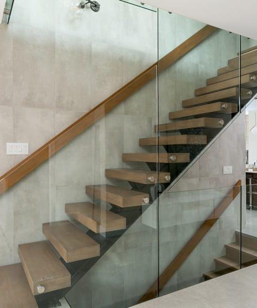 contemporary-log-home-canada-staircase